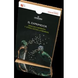 EL EXPRIMIDOR - Gracias campeón y otras ostias literarias. LUCHALIBRO - 3